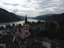 Bacharach Rheinland-Pfalz DE on the Rhine