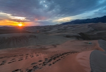 Backpacking in the Great Sand Dunes National Park