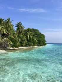 Backpacking in the Maldives Indian Ocean