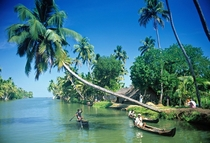 Backwaters of Kerala India