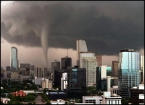 Bad quality pic but still awesome Miami with tornado  years ago