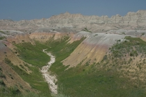 Badlands National Park in South Dakota OC