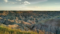 Badlands National Park SD USA