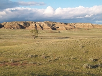 Badlands of Eastern Montana
