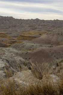 Badlands South Dakota USA