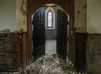 Badly decaying abandoned church in Ontario Canada OC