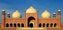 Badshahi Mosque  in Lahore Pakistan