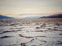 Badwater Basin Death Valley CA  x