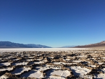 Badwater Basin Death Valley NP