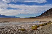 Badwater Basin in Death Valley CA