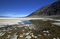 Badwater Basin in Death Valley California  OC