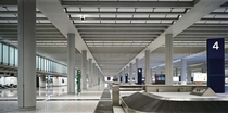Baggage reclaim hall Chek Lap Kok Airport Hong Kong