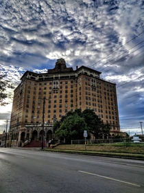 Baker Hotel Mineral Wells TX taken with Nexus P  x