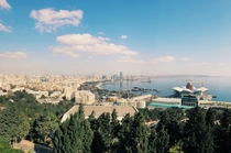Baku The standard shot anyone who goes there gets Was a glorious C on this day