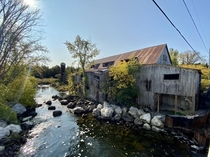 Balaclava Sawmill - built in  closed in  The last water-powered mill to operate in Ontario