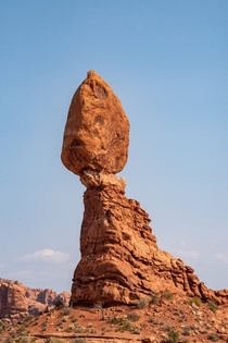 Balanced Rock Arches National Park UT USA