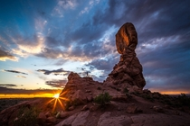 Balanced Rock Arches National Park Utah USA Photographer Whit Richardson