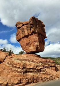 Balancing Rock Garden of the Gods Colorado