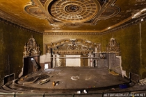 Balcony Abandoned Theatre New York NY