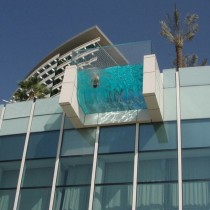 Balcony pool in Dubai