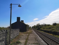 BallaIreland railway Station closed June in operation for  years before it closed and abandoned