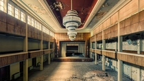 Ballroom of an abandoned hotel  by Johnny Wasted