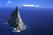 Balls Pyramid - The worlds tallest sea stack at  metres in Lord Howe Island New South Wales Australia