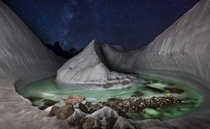 Baltoro Glacier near K Pakistan