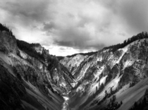BampW Film Grand Canyon of the Yellowstone