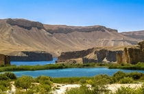Band-e Amir National Park Afghanistan
