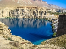 Band-e Amir National Park Afghanistan central highlands
