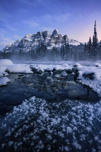 Banff sure is beautiful when its -f out OC  ross_schram