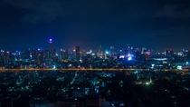 Bangkok by night - Edmond Boulet-Gilly