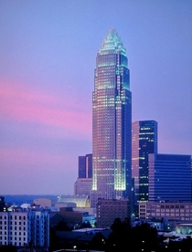 Bank of America Corporate Center in Charlotte NC