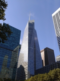 Bank of America Tower New York - COOKFOX Architects - took this picture August
