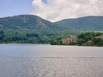 Bannerman Castle Fishkill NY as seen from a river cruise last summer