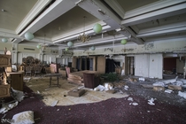 Banquet Hall Inside an Abandoned Ontario Canada Resort