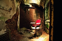 Barber Chair at Eastern State Penitentiary Pennsylvania