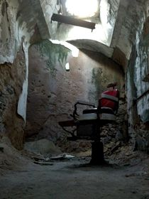 Barbers Chair at Eastern State Penitentiary PhiladelphiaPA
