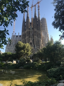 Barcelona Spain La Sagrada Familia
