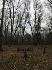 barclay pennsylvania was mostly wiped out by the plague and the industrial revolution finished the job all that remains is an abandoned cemetery on state game lands