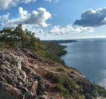 Bare Bluffs near Copper Harbor Michigan
