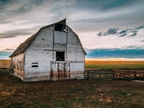 Barn out in Bozeman Montana  x