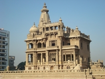 Baron Empain Palace in the Heliopolis district of Cairo Designed by Alexandre Marcel and completed in