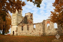 Bartininkai Church ruins Lithuania