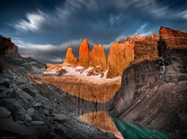 Base of the Towers Torres del Paine National Park Chile  by Ignacio Palacios