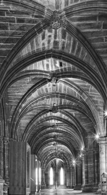 Basement of Glasgow Cathedral Scotland