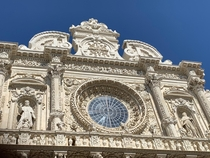 Basilica di Santa Croce Lecce Italy Completed in  The capital of Baroque witholds many more masterpieces as such