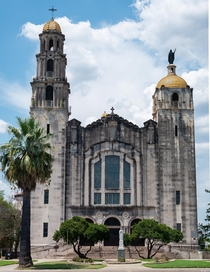Basilica of the National Shrine of the Little Flower San Antonio TX by Monnot Charles L Jr  built in  style Beaux Arts