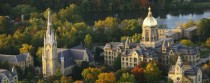 Basilica of the Sacred Heart and Main Building University of Notre Dame Indiana